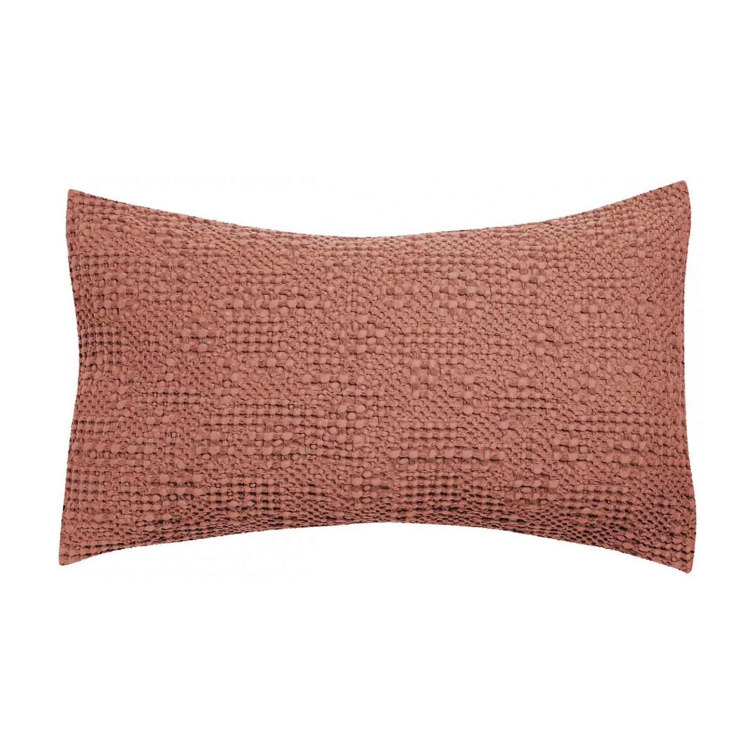 Coussin  en coton blush 40 x 65 (photo)