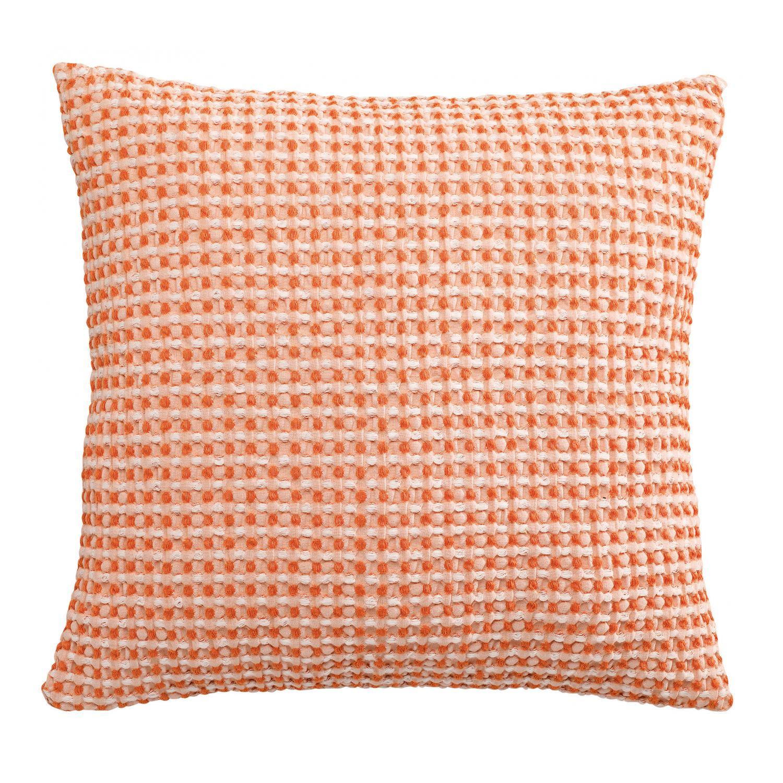 Coussin   en coton clementine 45 x 45