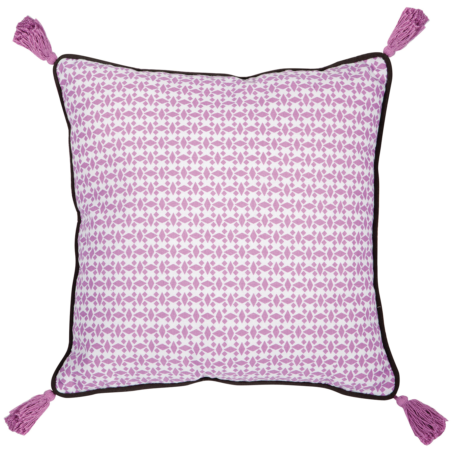Coussin  en coton anemone 40 x 40 (photo)