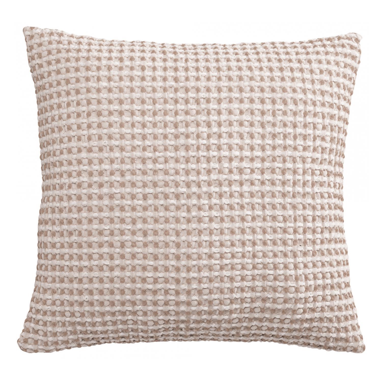 Coussin   en coton lin 45 x 45