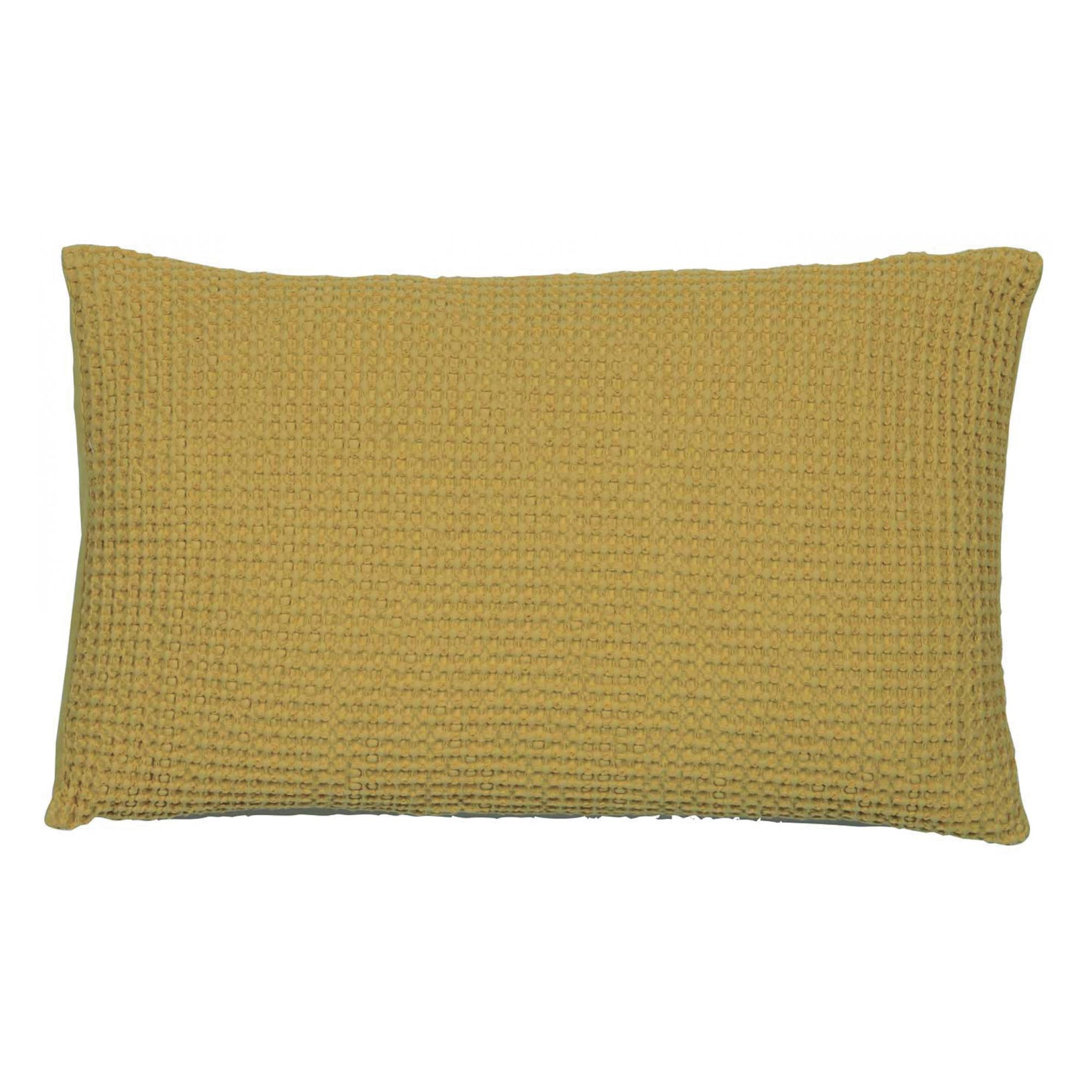 Coussin  en coton badiane 30 x 50 (photo)
