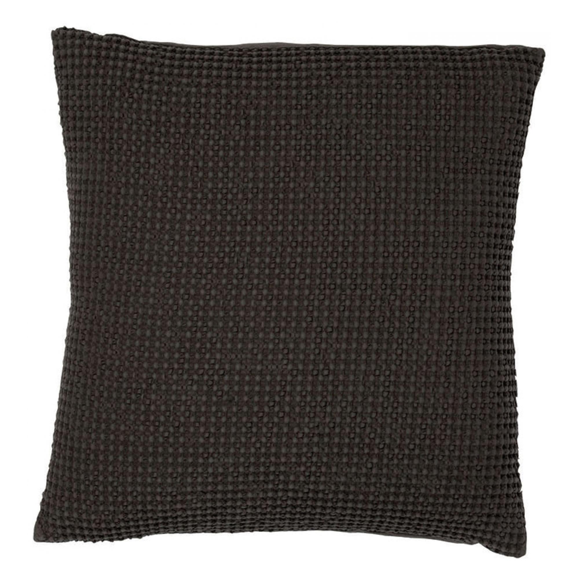 Coussin  en coton carbone 45 x 45