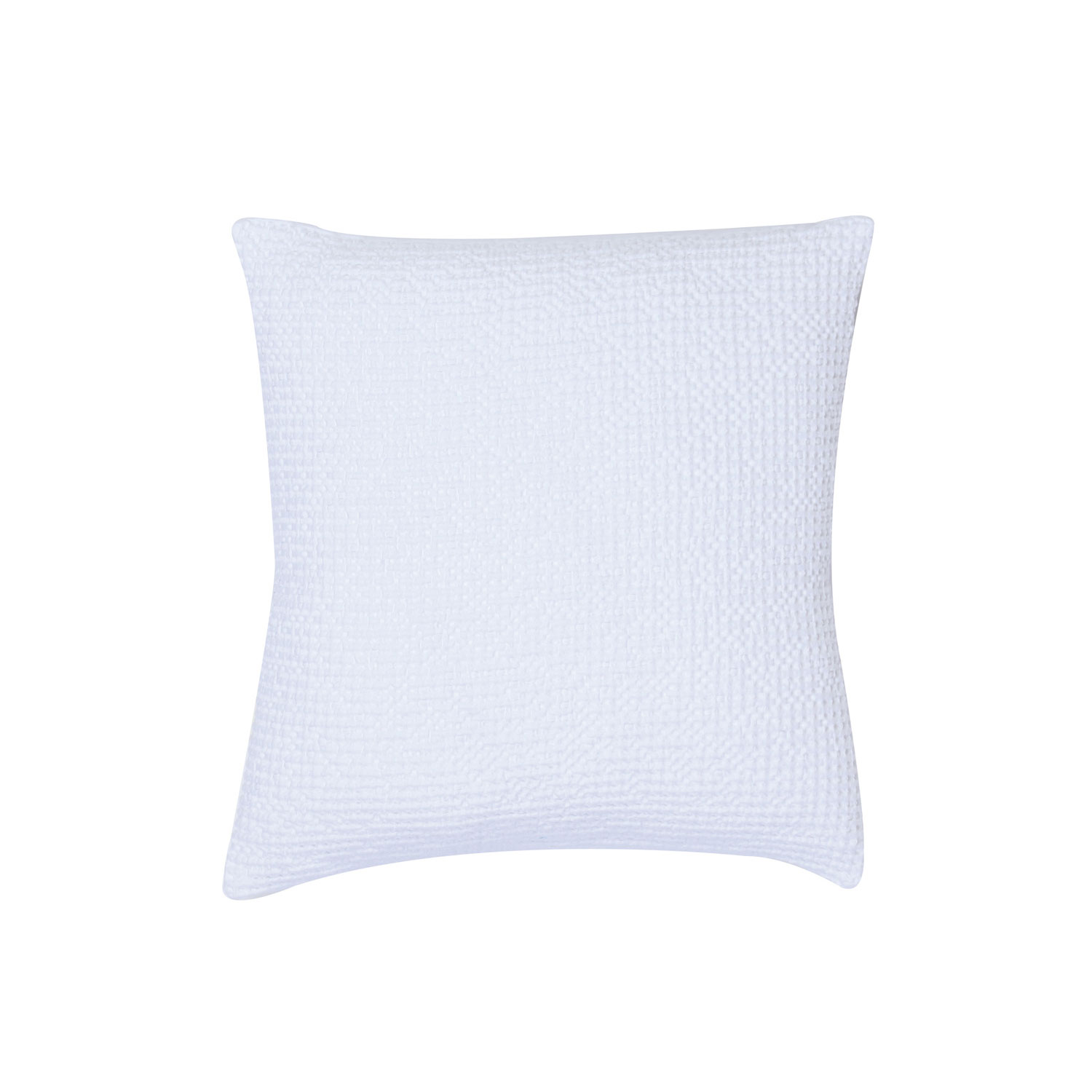 Coussin  en coton blanc 45 x 45 (photo)