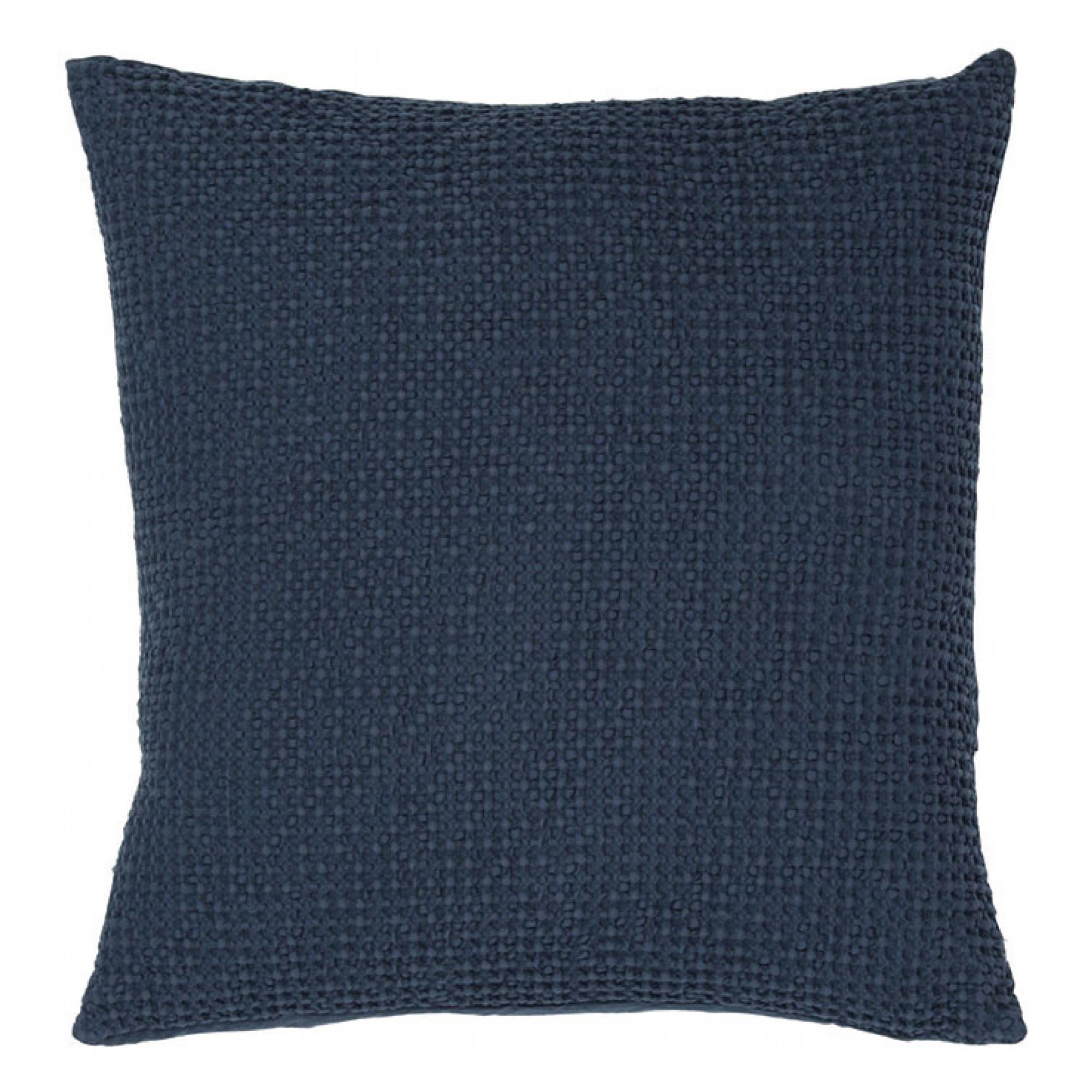 Coussin  en coton navy 45 x 45