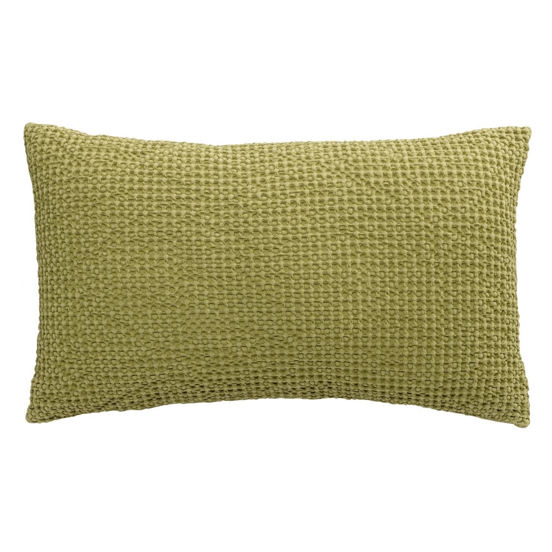 Coussin   en coton matcha 30 x 50