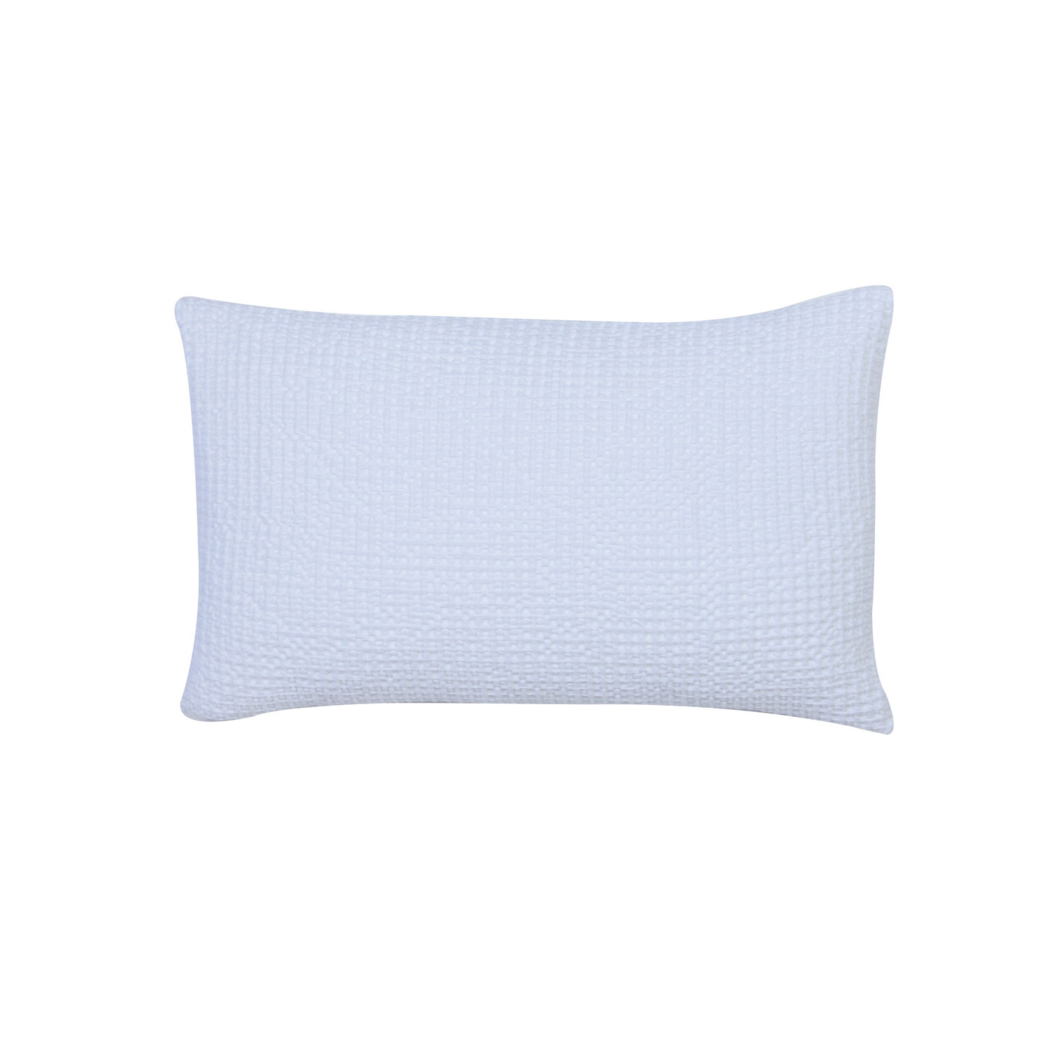 Coussin  en coton blanc 30 x 50 (photo)