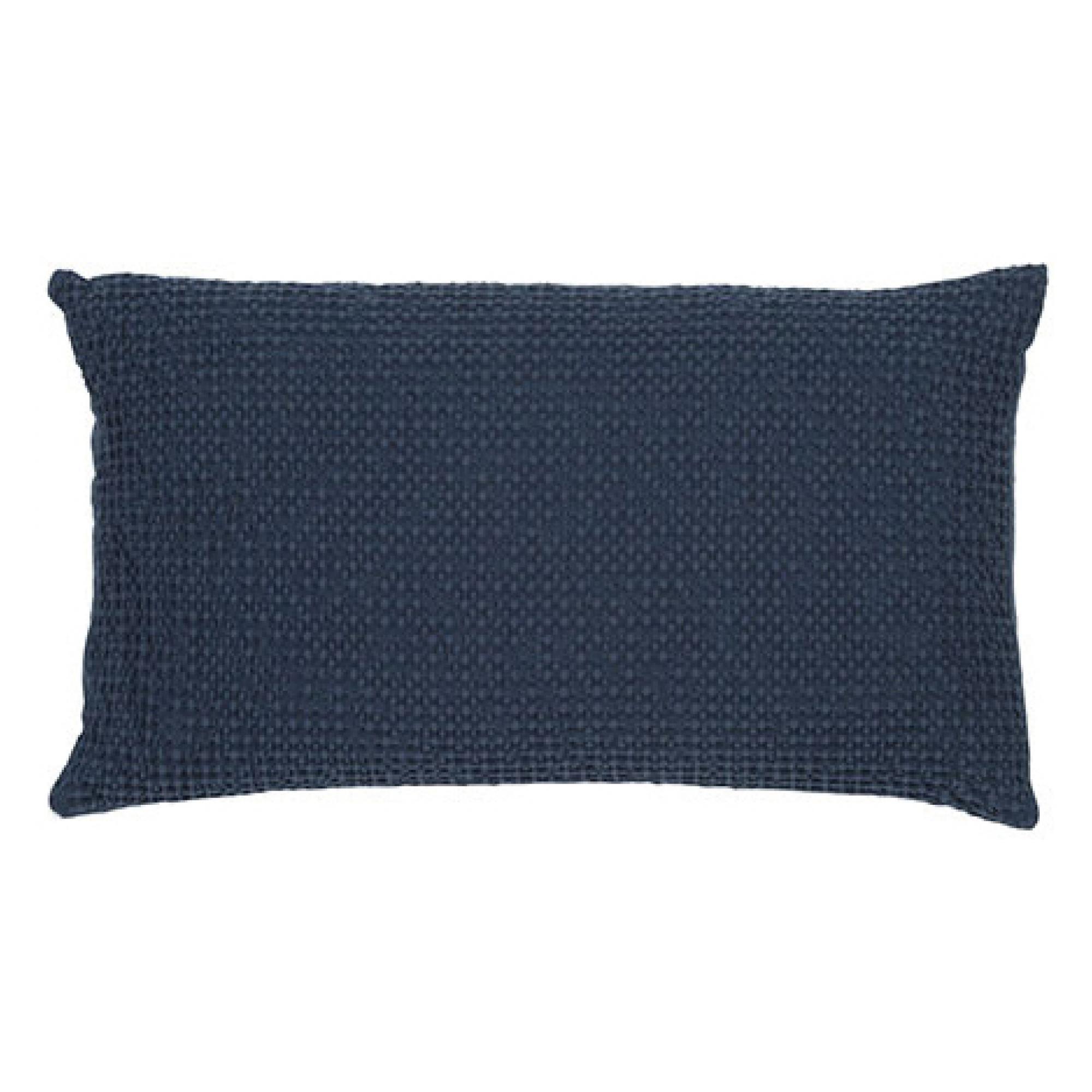 Coussin  en coton navy 30 x 50
