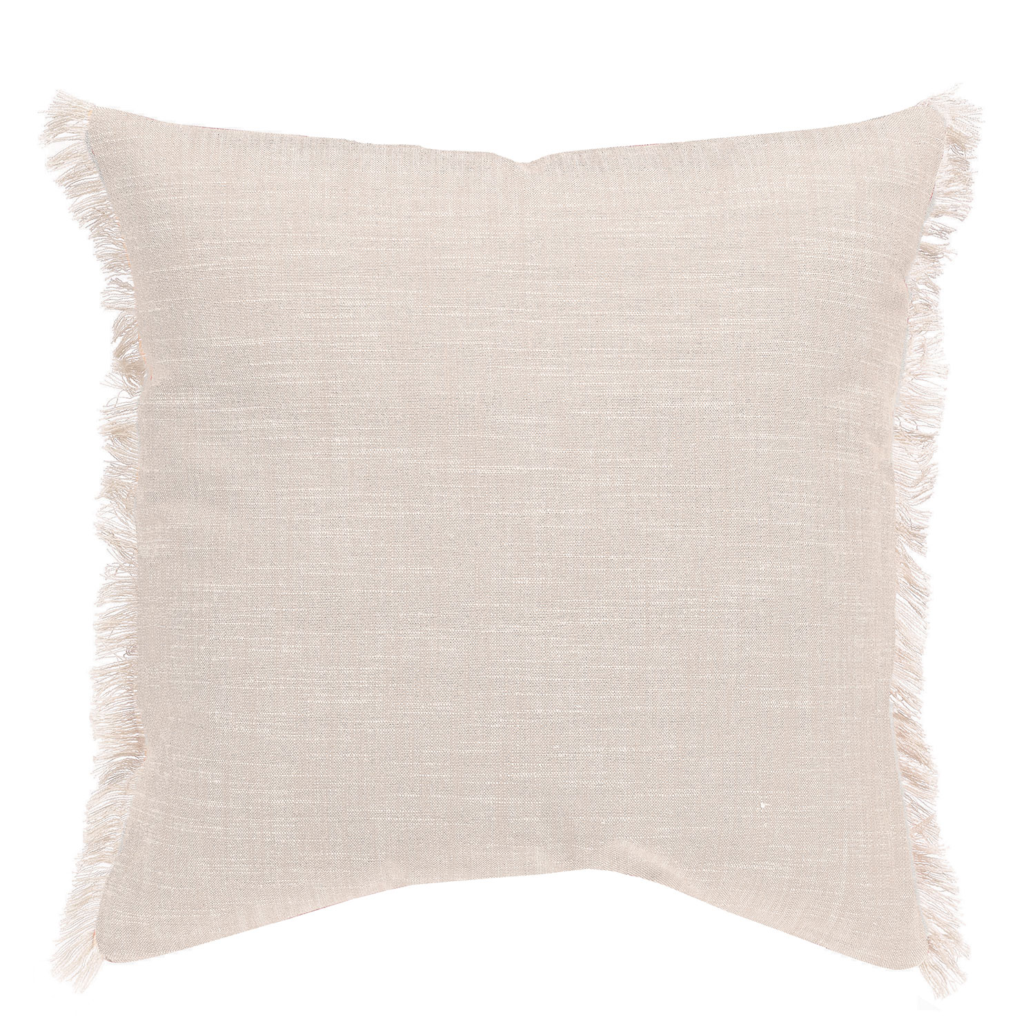 Coussin  en coton ficelle 45 x 45 (photo)