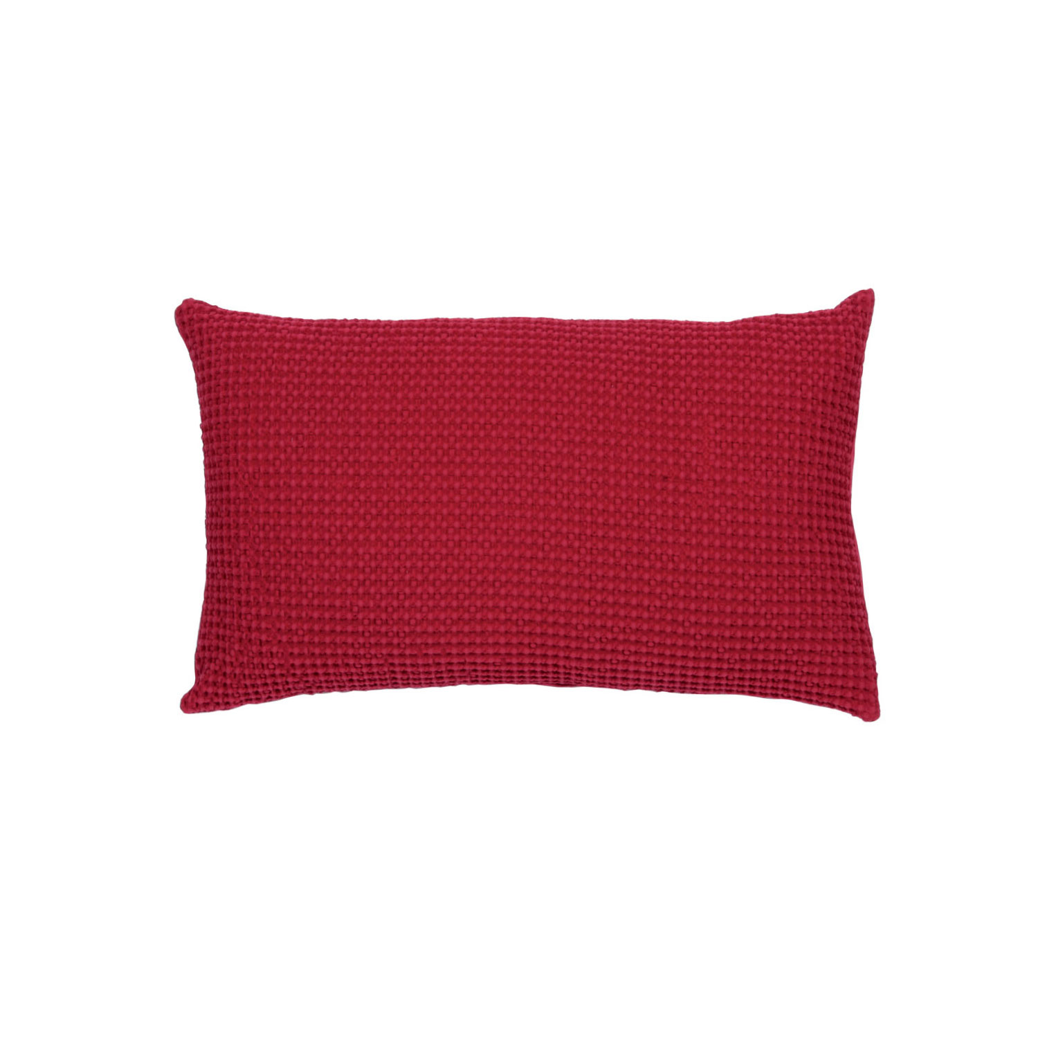Coussin  en coton fuchsia 30 x 50 (photo)