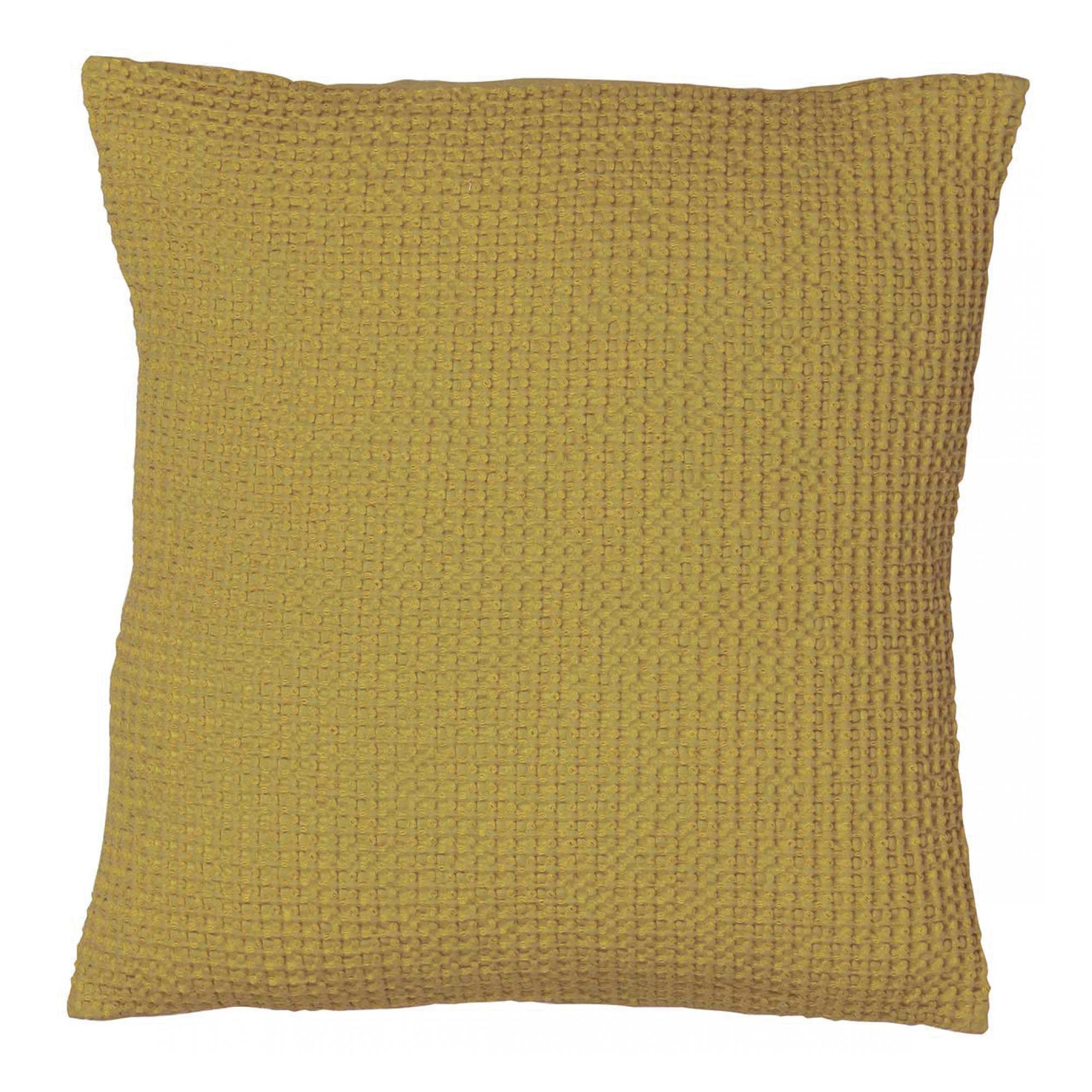 Coussin  en coton badiane 45 x 45 (photo)