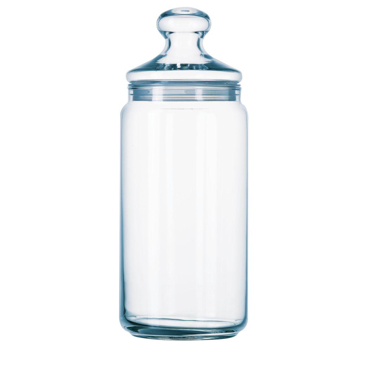 Bocal en verre haut 1,5l