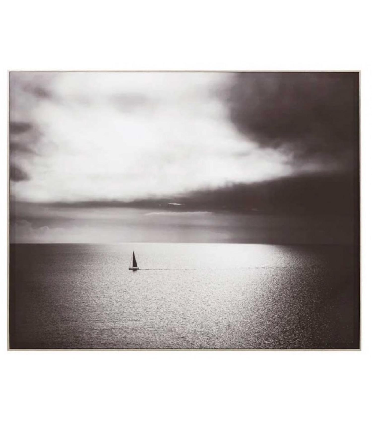 Tableau décoratif photo noir et blanc 100x80cm