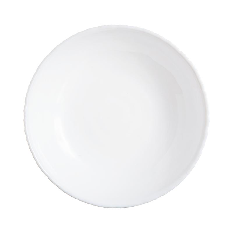 Assiette creuse blanche D21cm