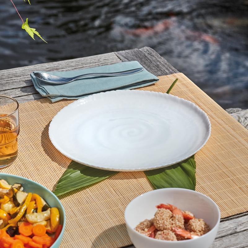 Assiette plate blanche D26cm