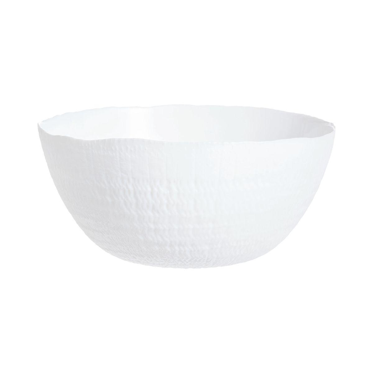 Saladier blanc D23cm