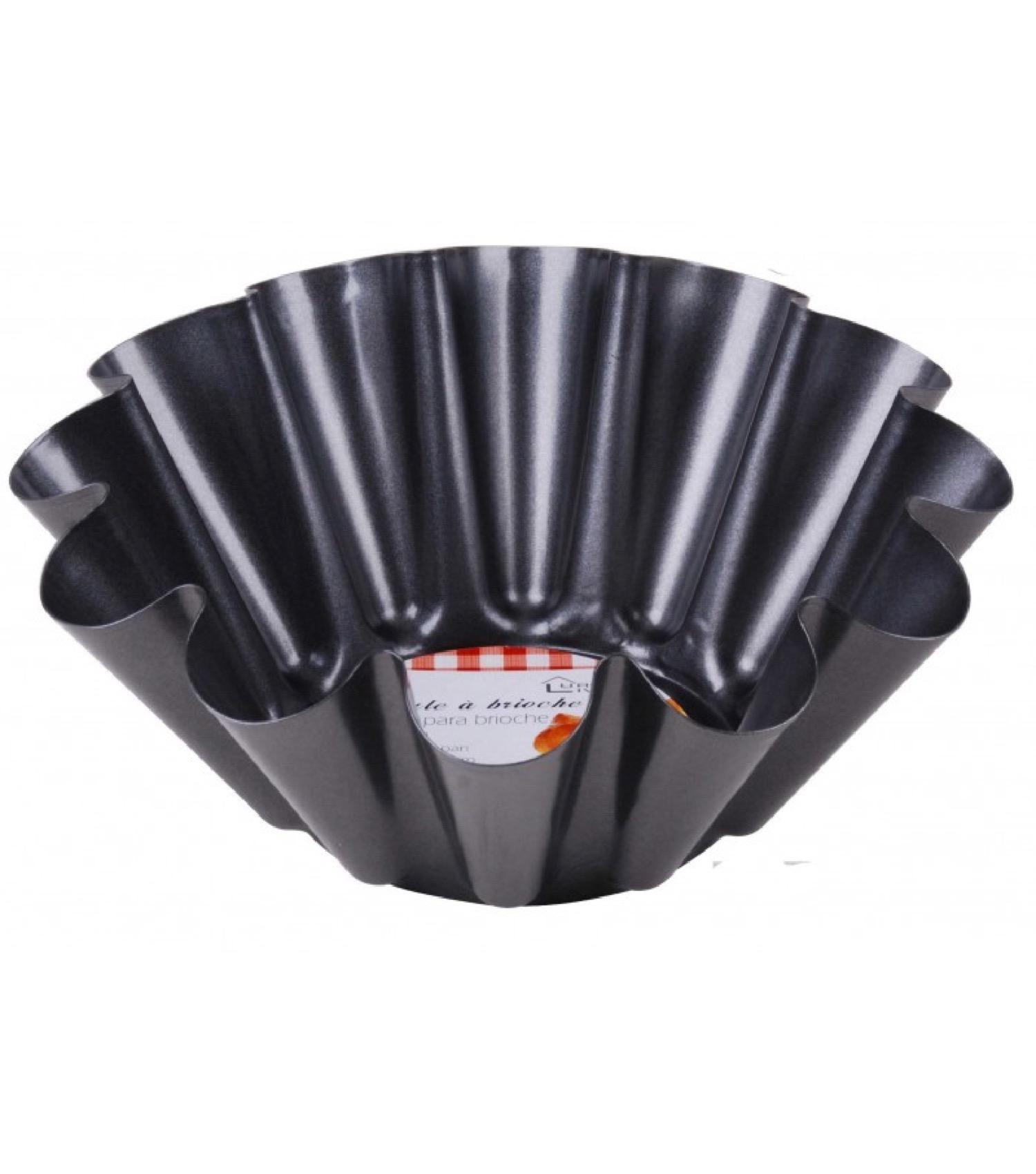 Moule à brioche revêtement anti-adhésif D24cm