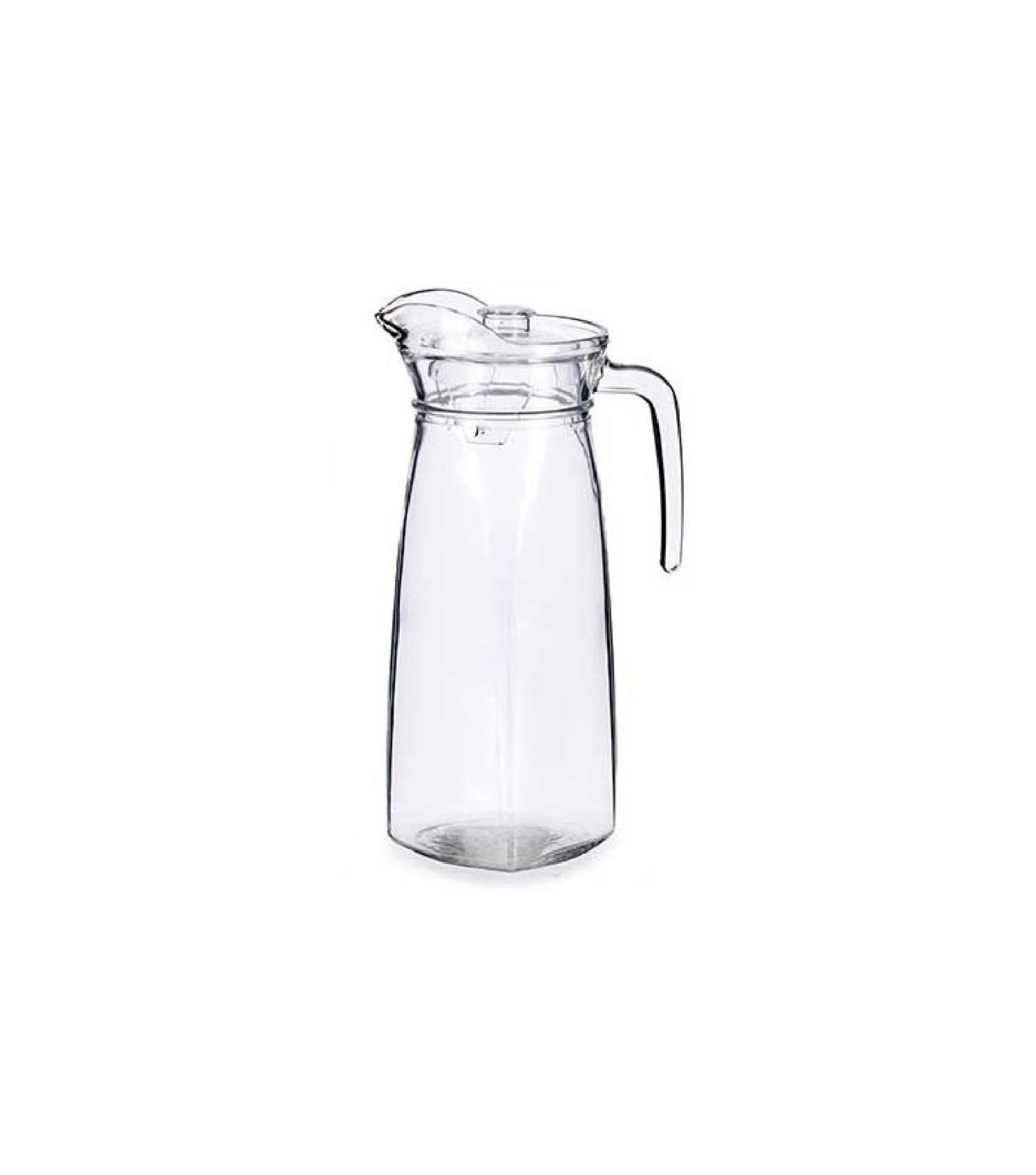 Carafe en verre et bouchon en plastique 1,4L