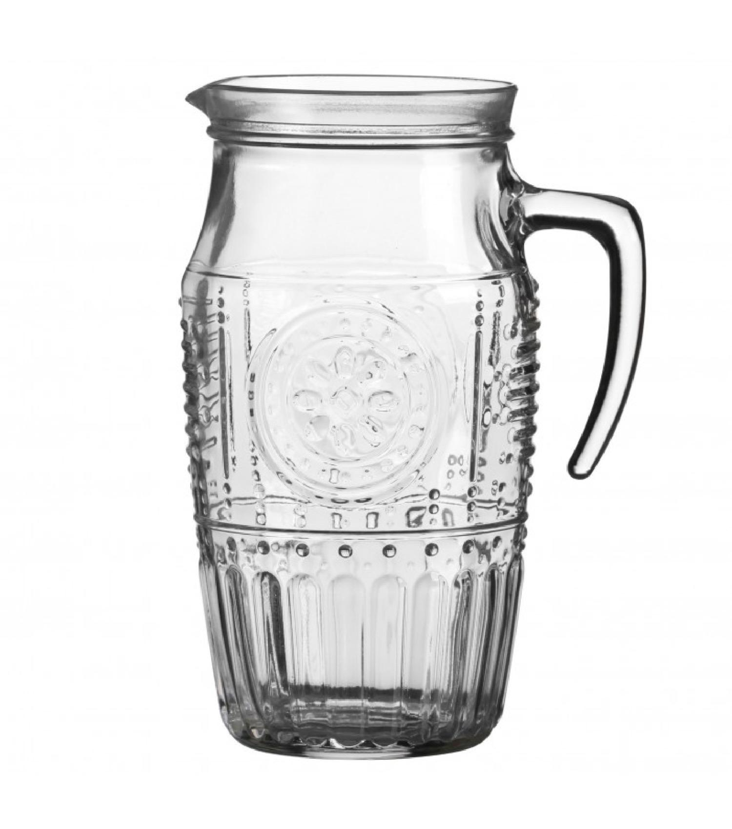 Pichet à eau en verre 1,6L