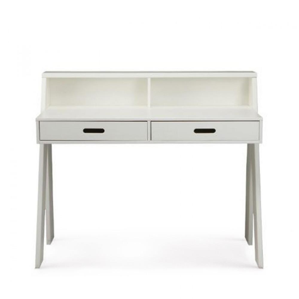 Bureau en bois fsc blanc
