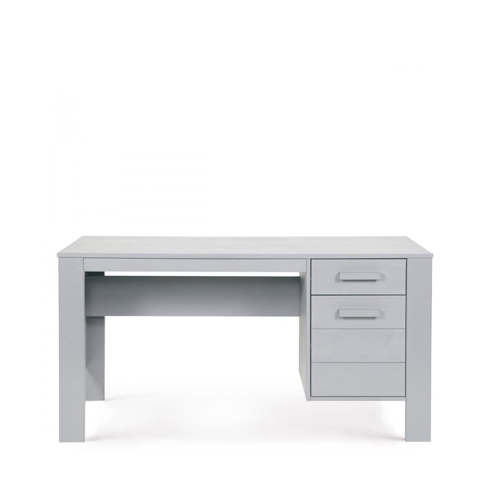 Bureau en bois gris béton