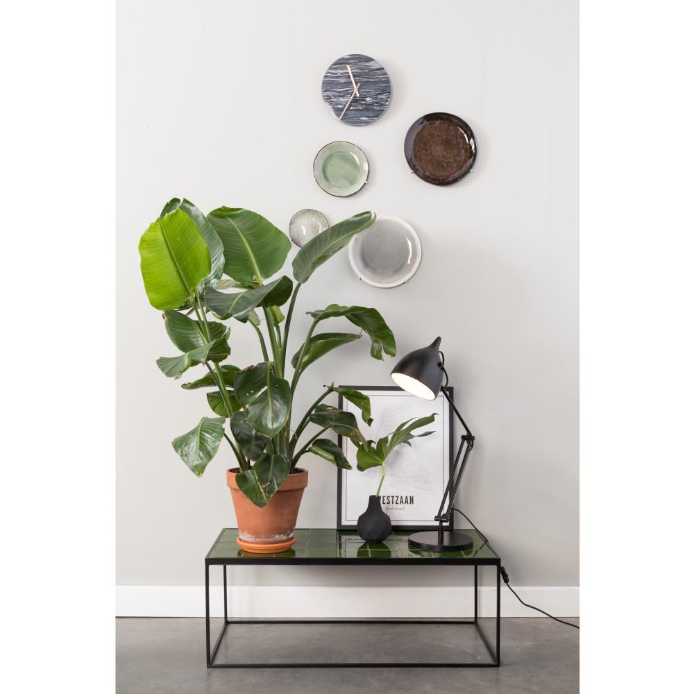 Table basse rectangulaire en céramique vert