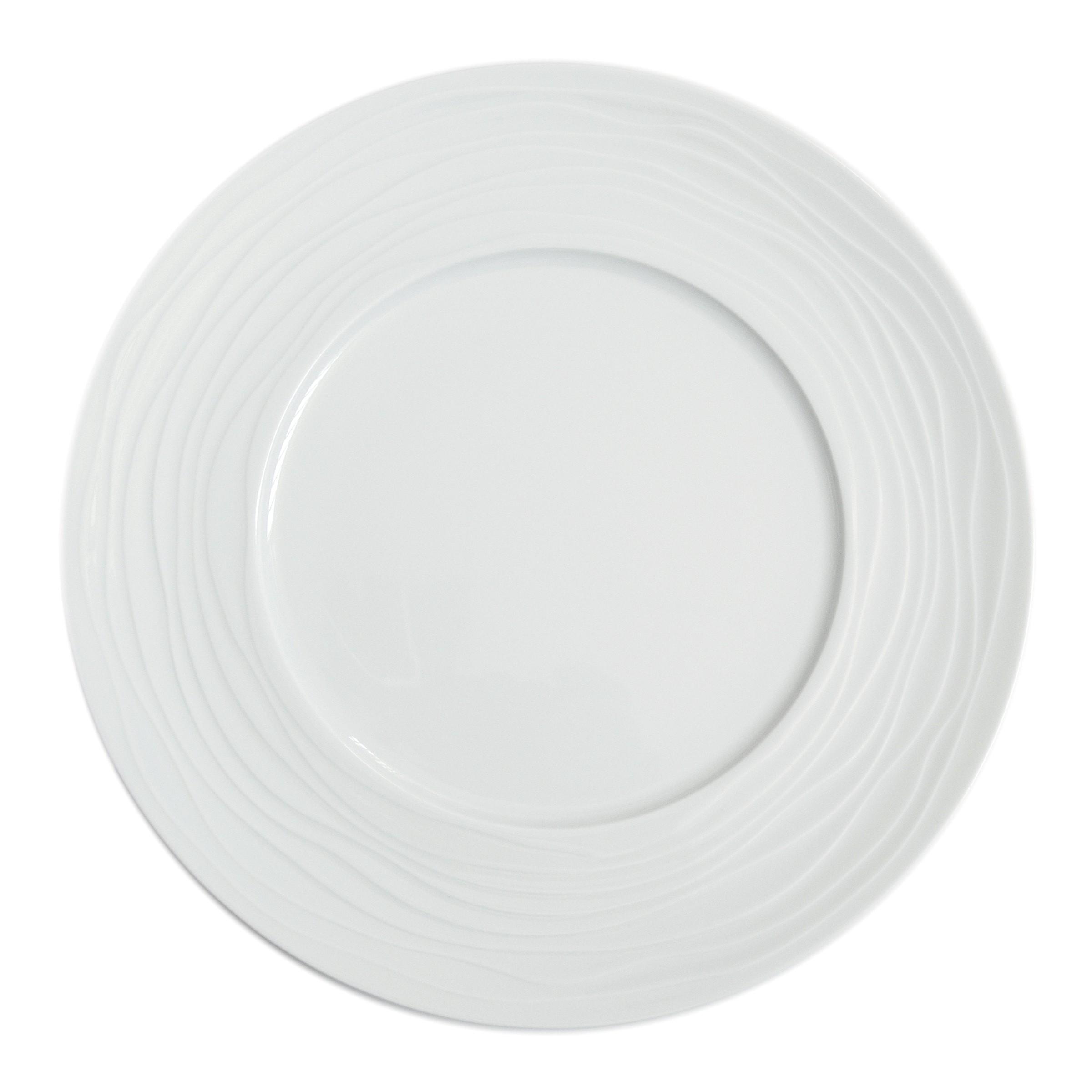 Coffret 3 assiettes de présentation D31,5cm