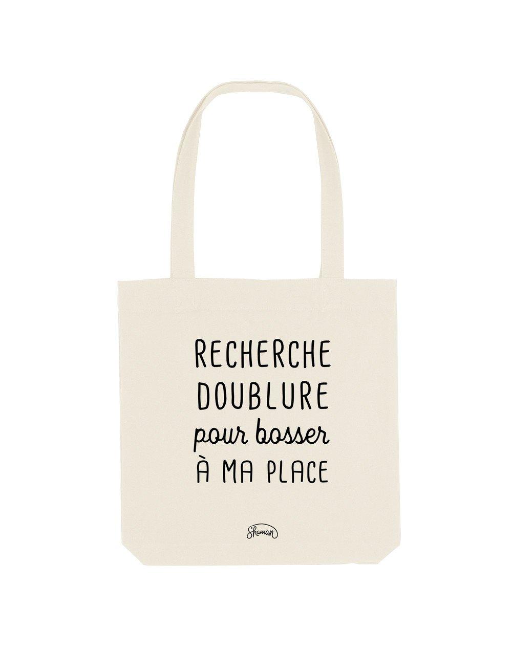 RECHERCHE DOUBLURE - Tote Bag  Natural  en coton