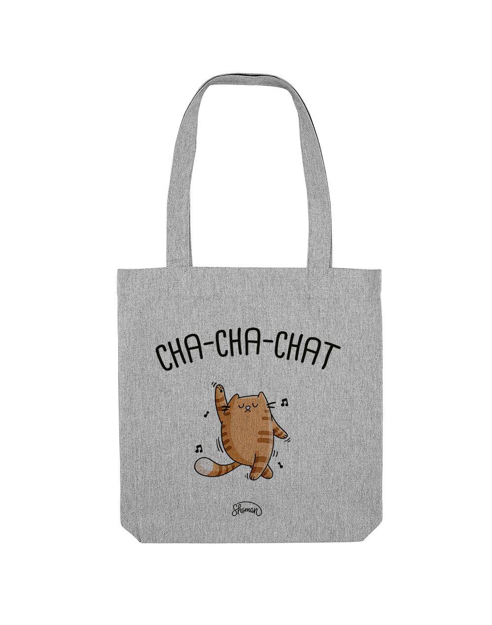 CHACHACHAT - Tote Bag  Gris chiné  en coton