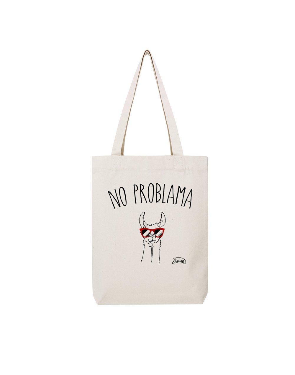NO PROBLAMA - Tote Bag  Natural  en coton