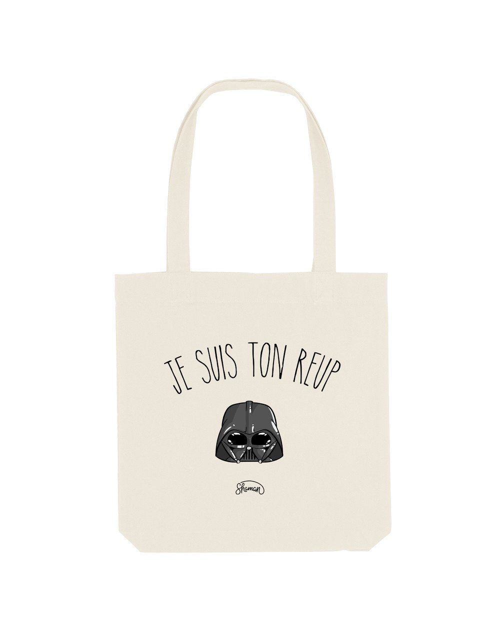 TON REUP - Tote Bag  Natural  en coton
