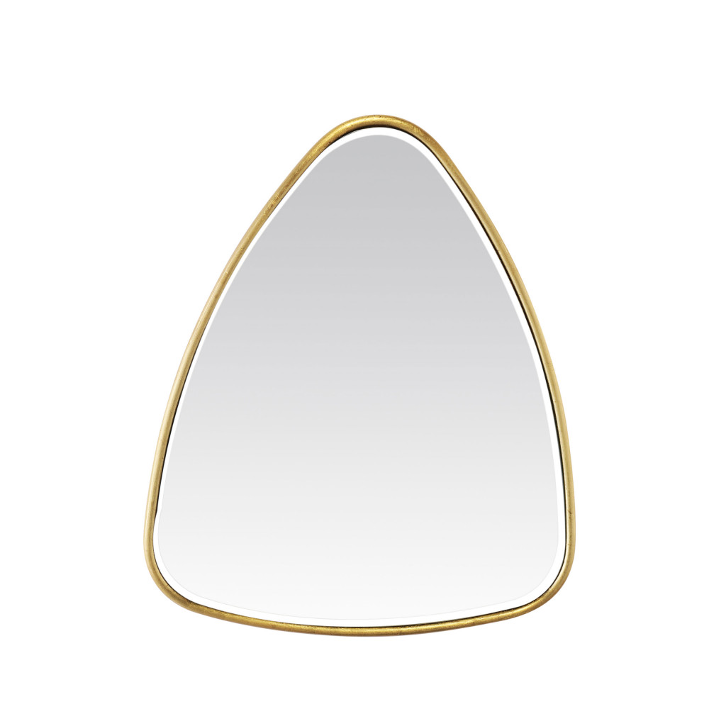 Miroir triangle 42x50 cm or