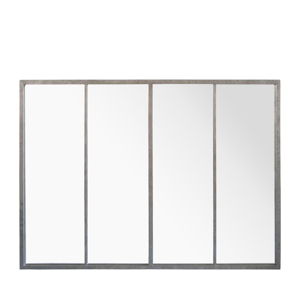 Miroir atelier verrière 90x120 zinc