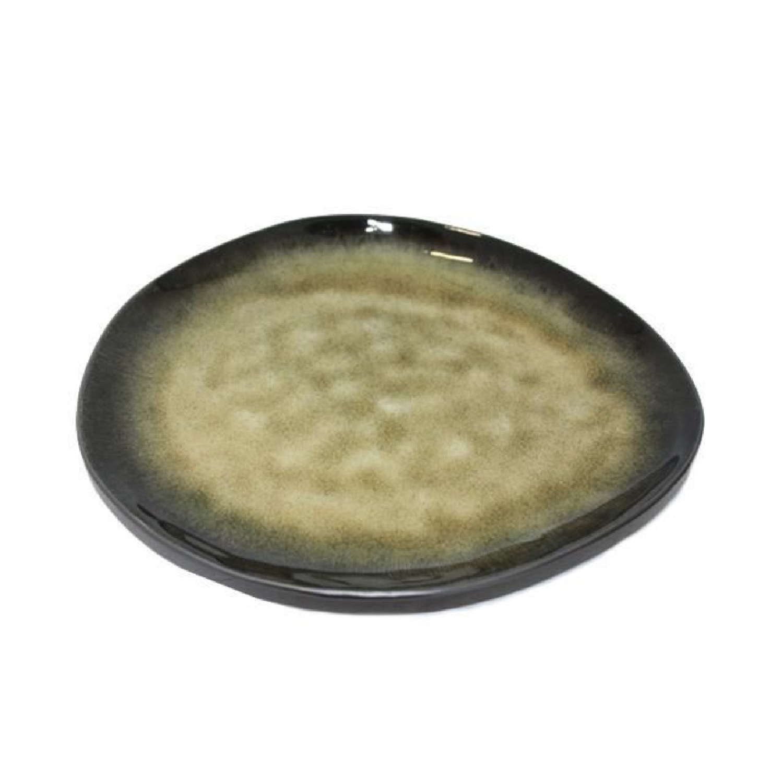 Assiette ovale céramique 28x24cm