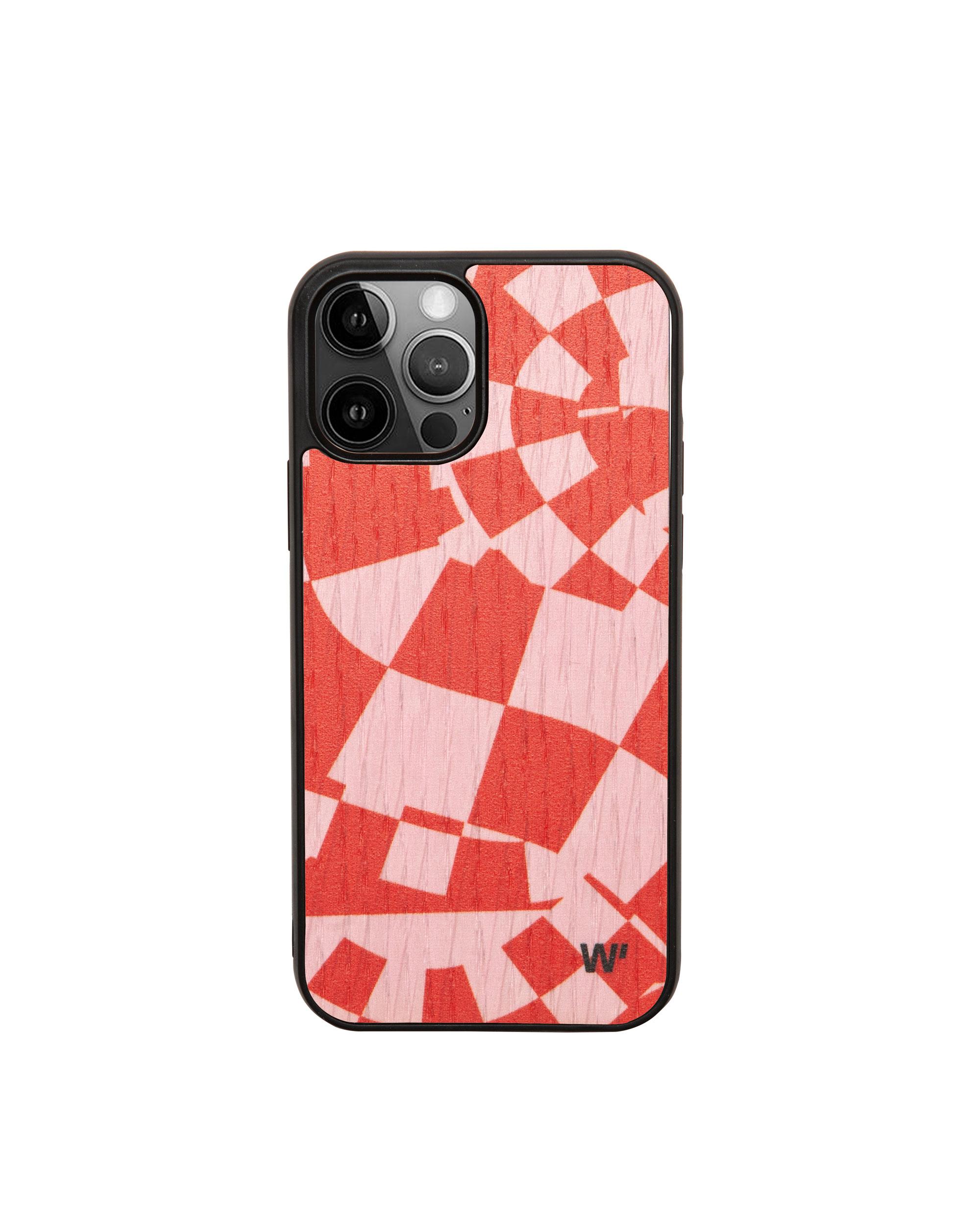 FLUID CHESS - Coque en bois pour iPhone 12 pro max