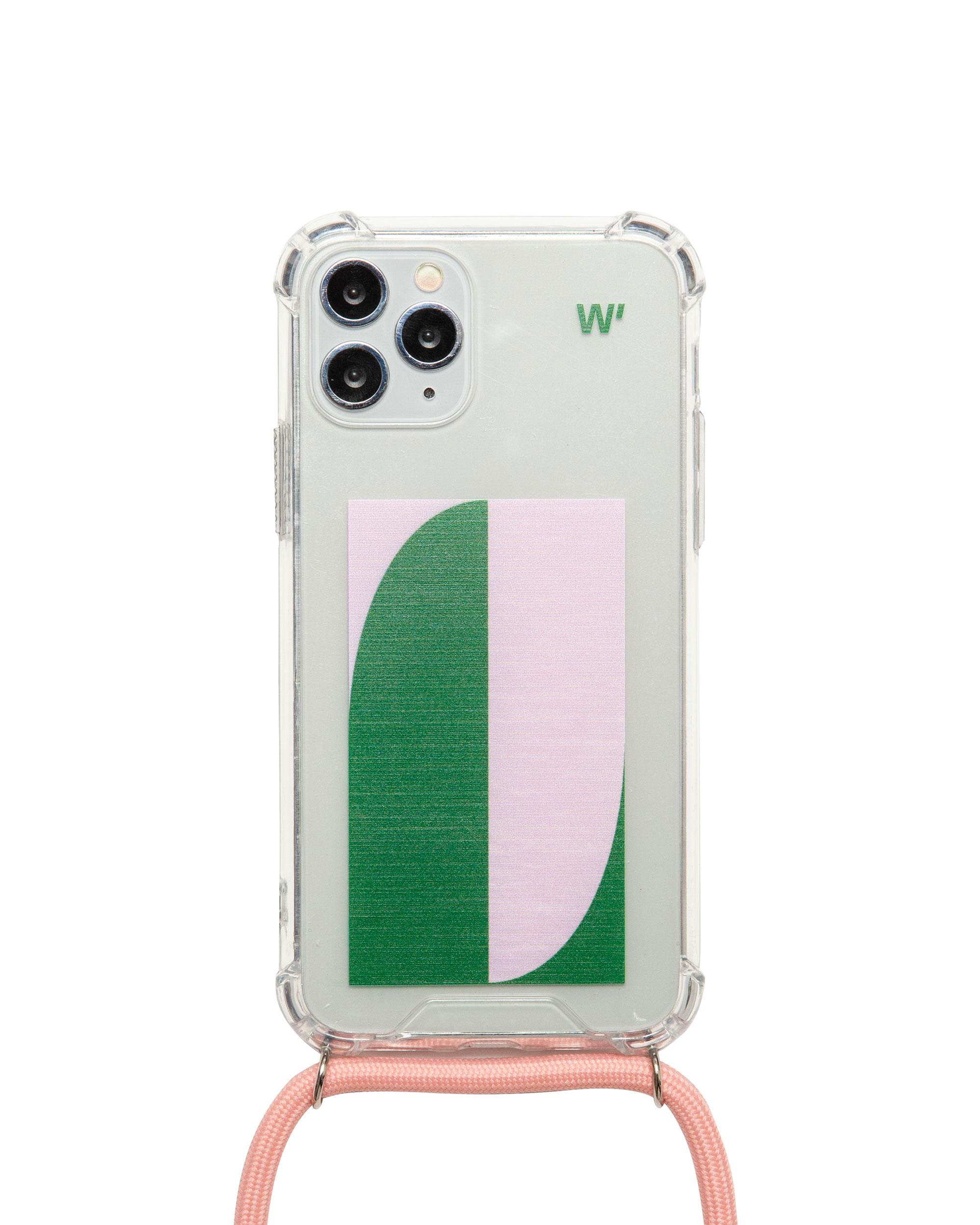 GREEN FLAG - Coque avec cordon pour iPhone X/XS