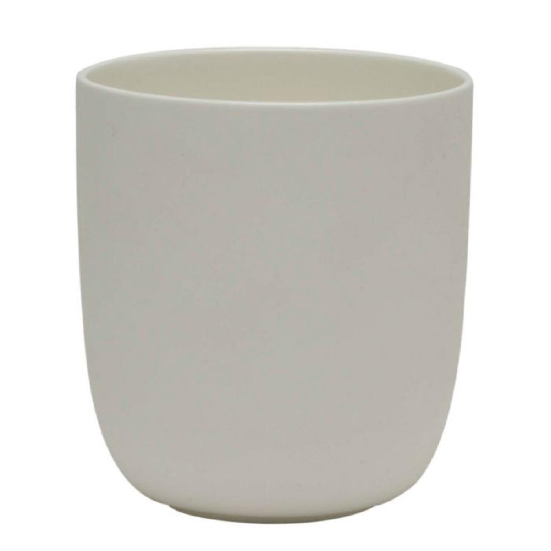 Tasse blanche à thé D8cm