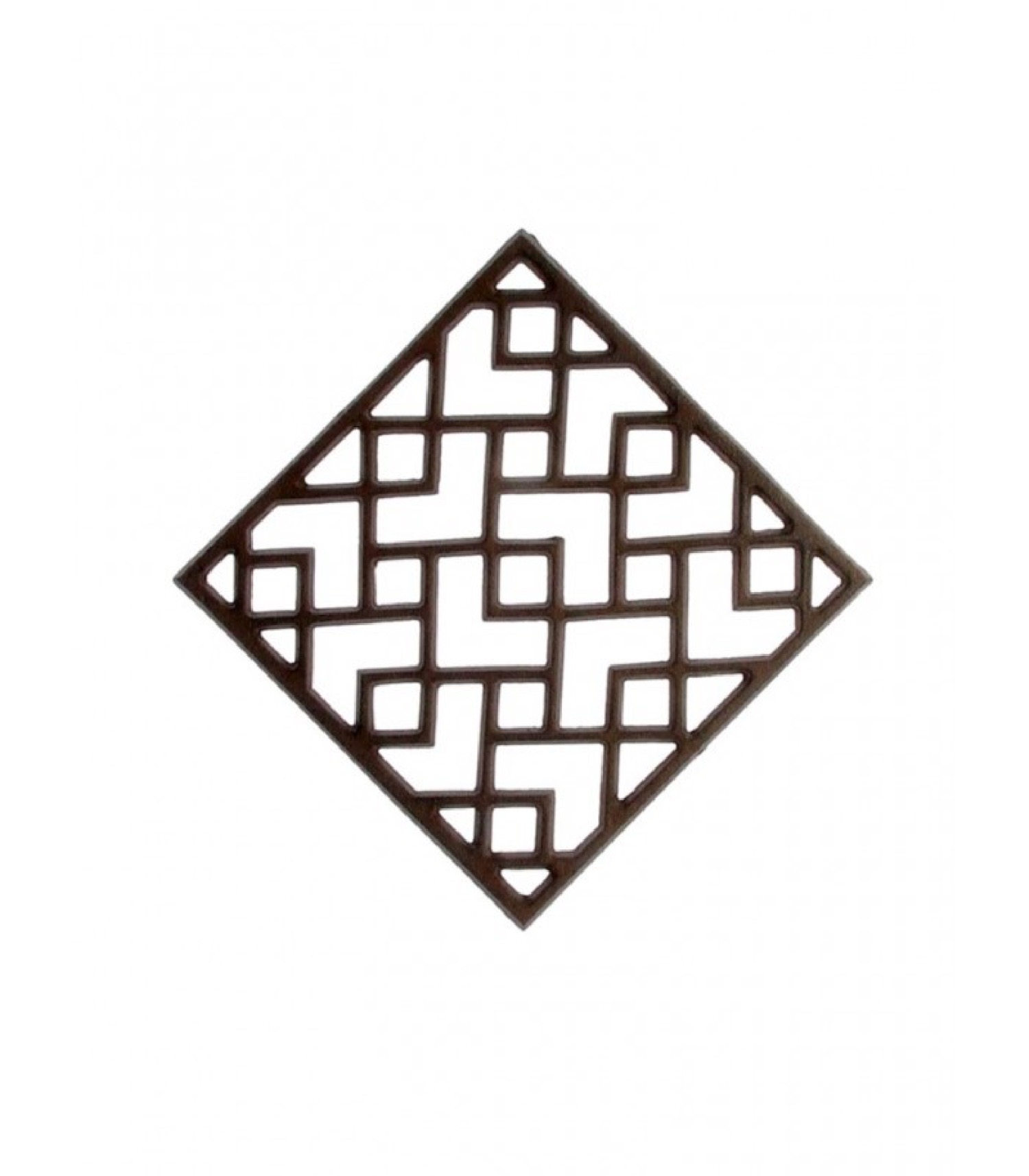 Dessous de plat en fonte 16x16cm