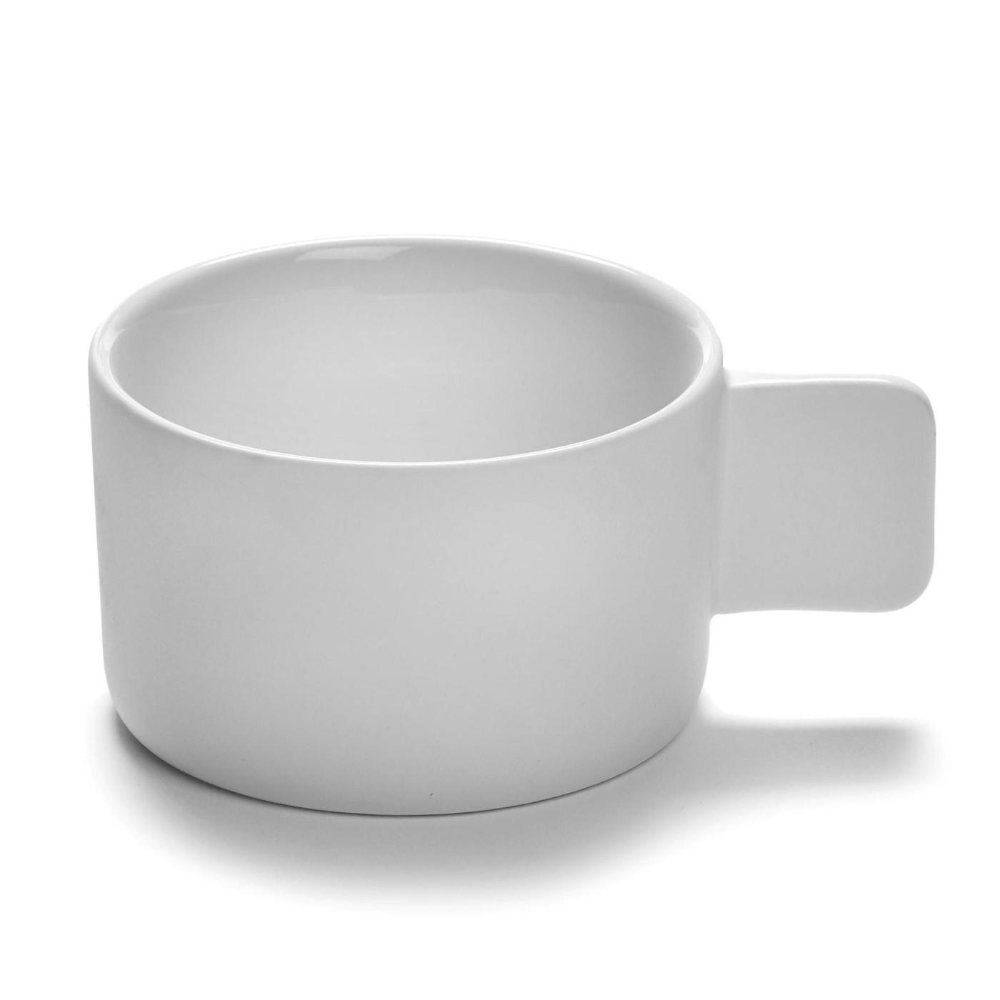 Tasse à expresso en porcelaine blanche D9cm