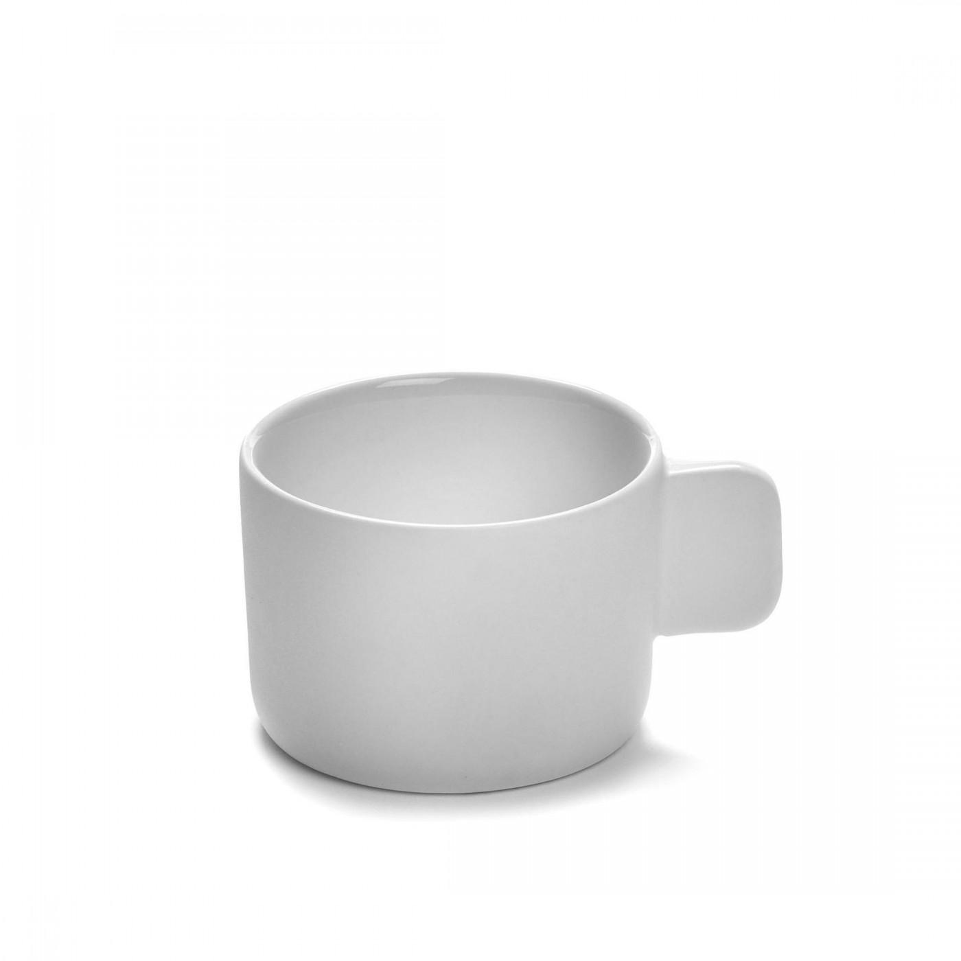 Tasse à expresso en porcelaine blanche D6,5cm