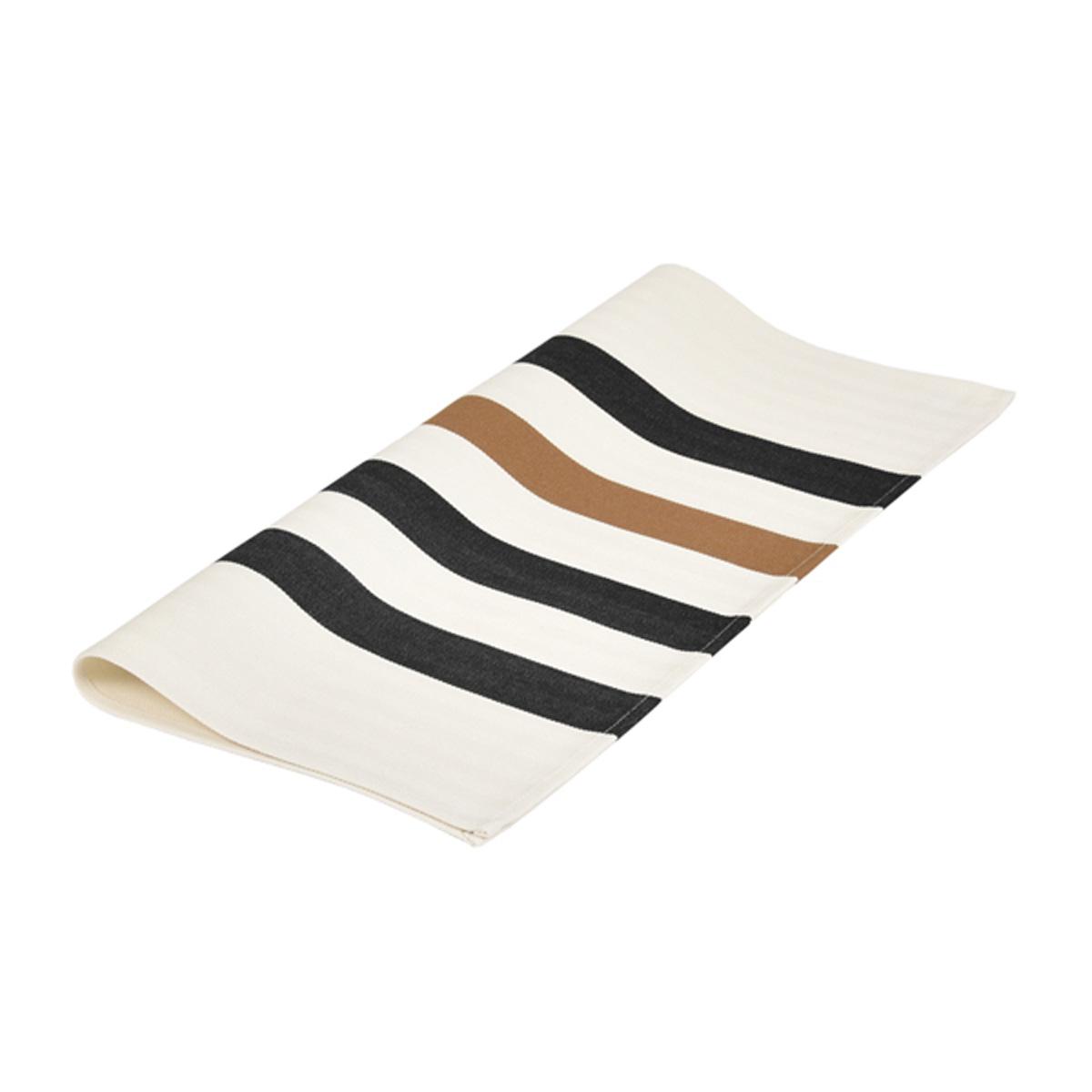 Serviette de table en coton multicolore 50x50cm