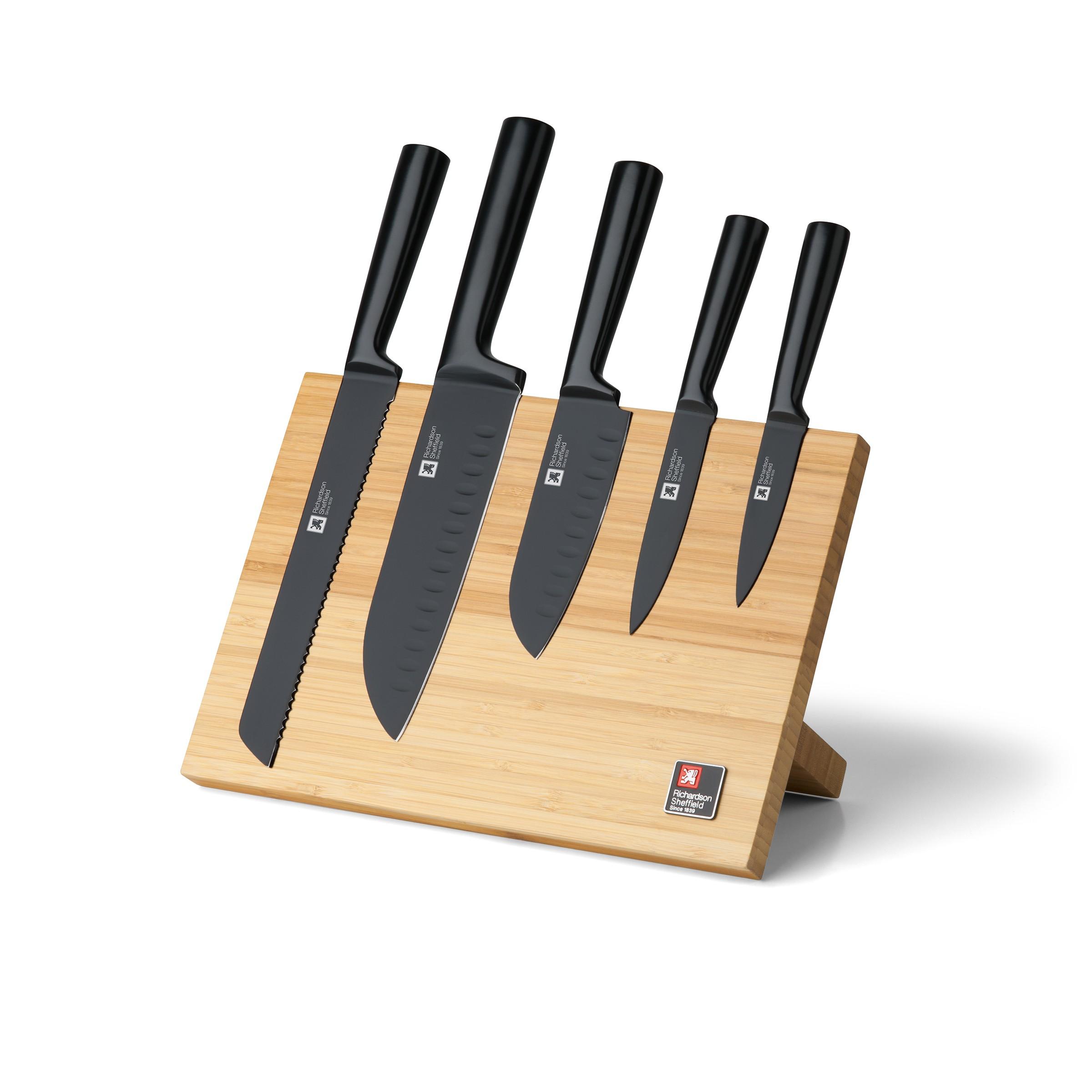 Bloc 5 couteaux de cuisine