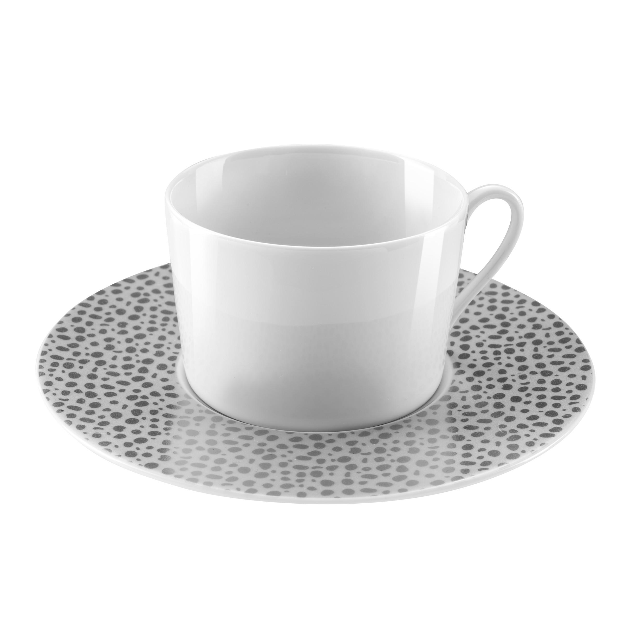 Tasse et soucoupe thé - Lot de 6