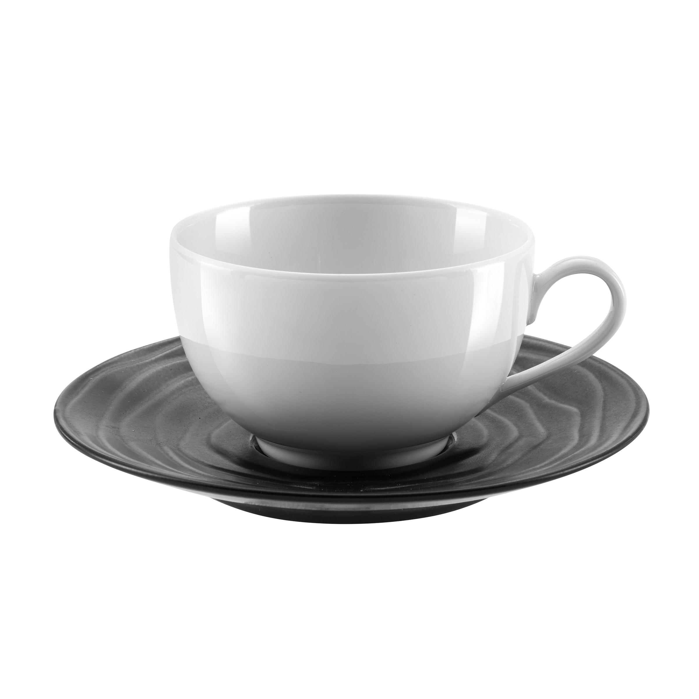 Tasse et soucoupe à thé - Lot de 6