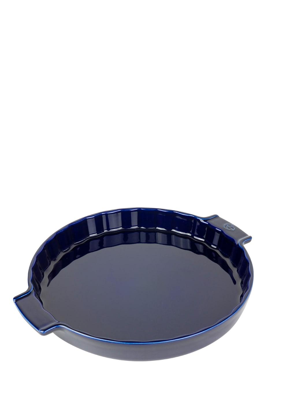 Moule à tarte céramique bleu D30cm