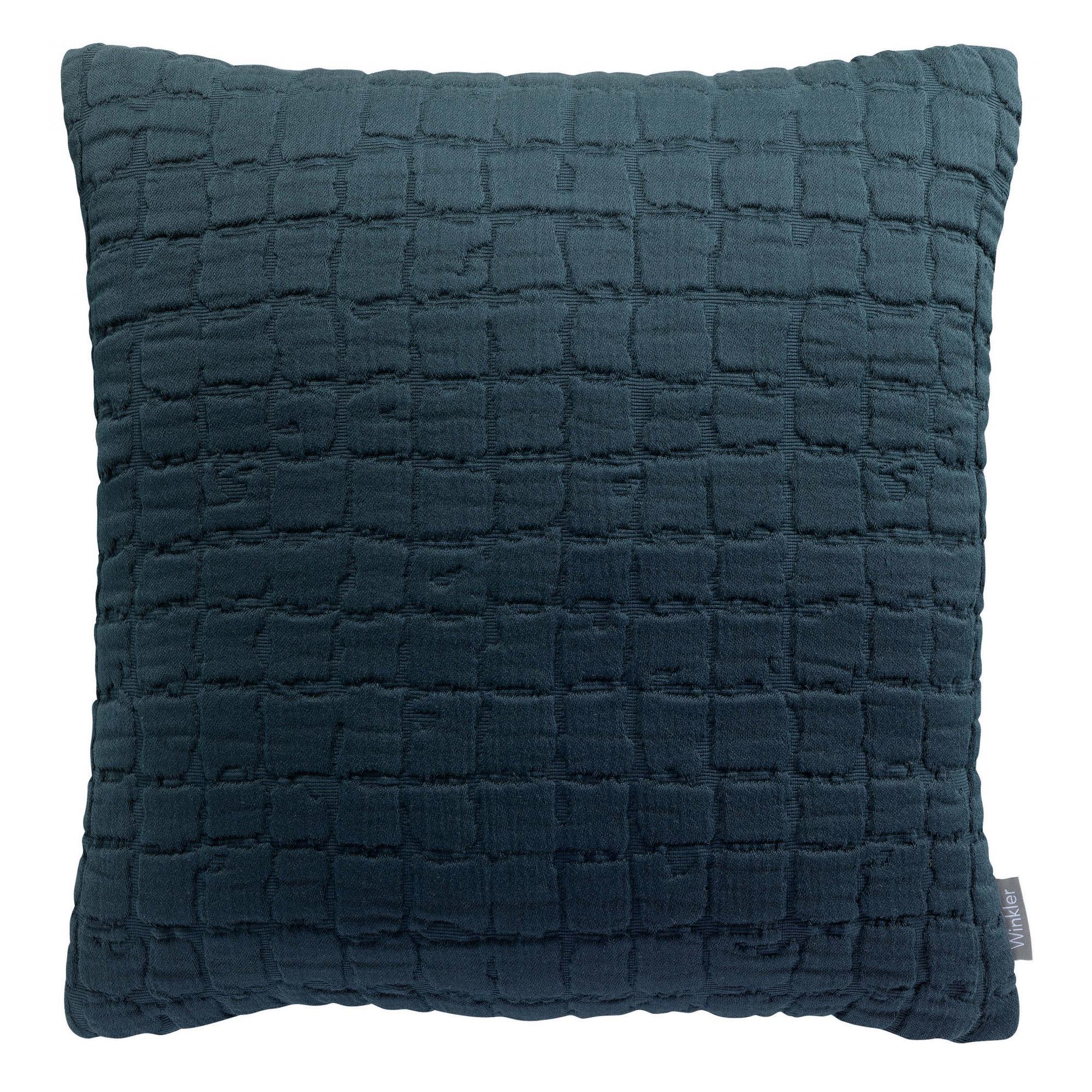 Coussin   en coton ombre 45 x 45