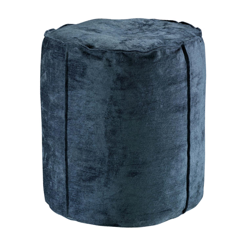 Pouf  en coton encre 0 x 40 x 42