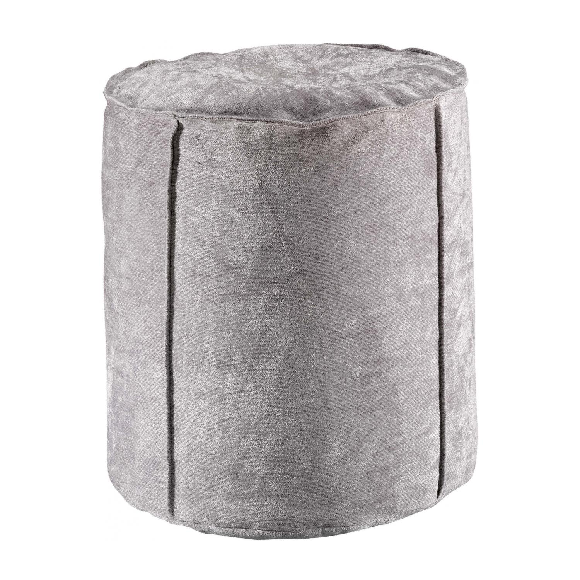 Pouf  en coton perle 0 x 40 x 42