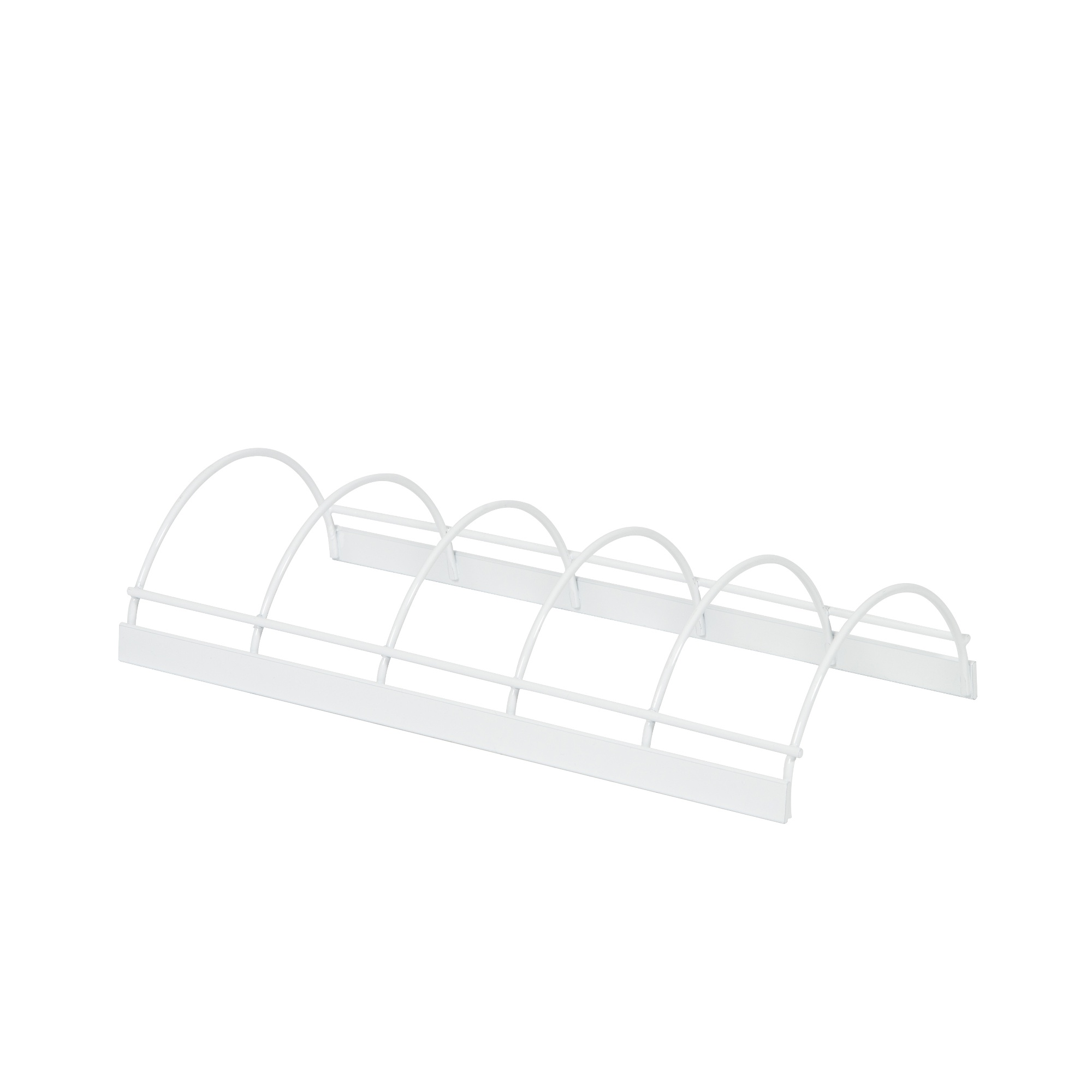 Égouttoir à vaisselle en acier laqué blanc