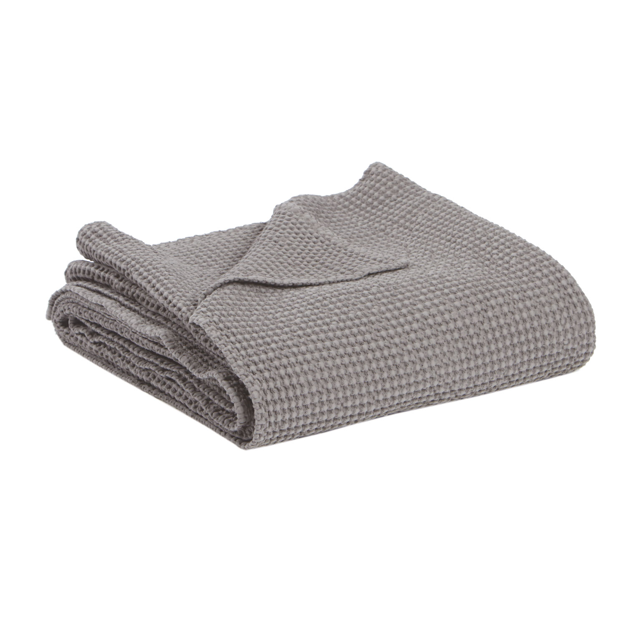 MAIA - Dessus de lit en tissu beige 140x200
