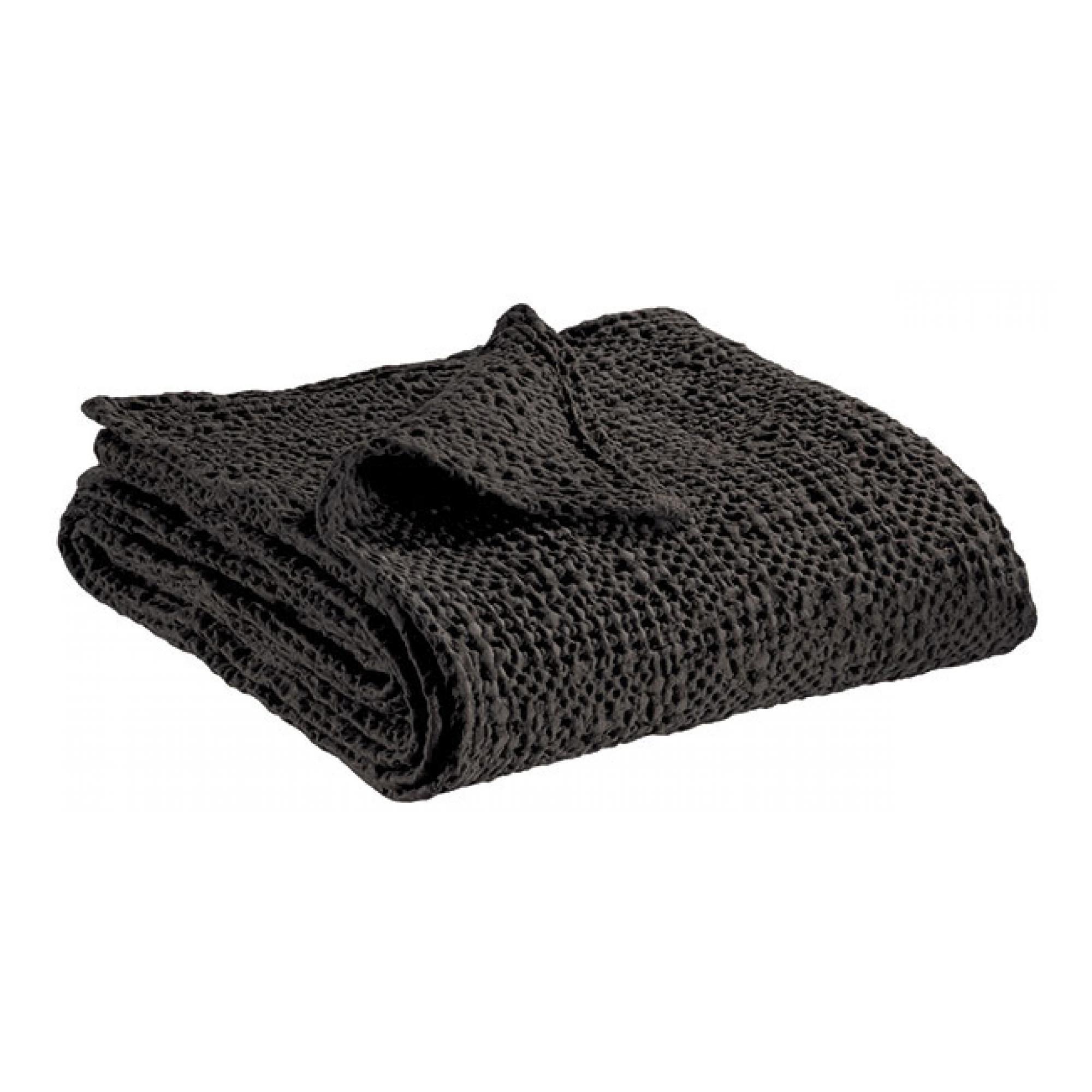 Jete  en coton carbone 260 x 260
